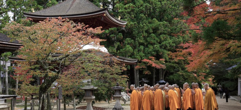 Koyasan – A Sacred Region Born through Faith